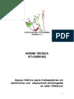 Norma Tecnica Calor Cnem 002