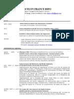 CV Jocelyn France
