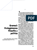Gramsci Filosofia y Practica