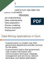 Data Mining Govt
