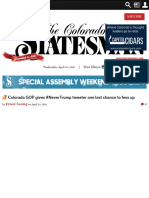? Colorado GOP gives #NeverTrump tweeter one last chance to fess up - The Colorado Statesman