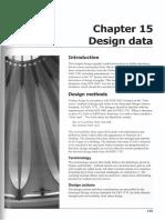 Chapter 15 Design Data