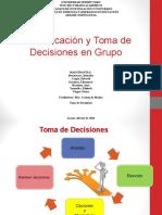Diapositivas Comunicacion y Toma de Decisiones en Grupo Este