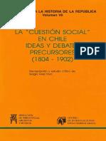 Fuentes para la historia de la Cuestión Social en Chile