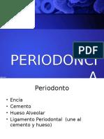 introduccion a la periodoncia