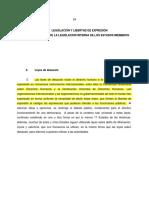 OEA. Leyes de Desacato