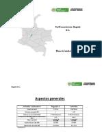 Perfil Departamento Bogotá