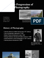 the progression of photography