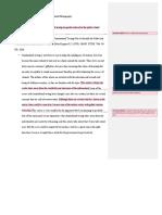 paper 2 peer comments