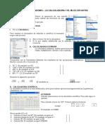 Operaciones Accesorios Windows