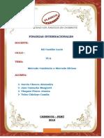 Informe de Exposicion Mercado Cambiario Mercado Divisas