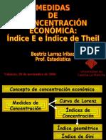 Medidas Indice de Theil