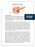 Pancreatitis Biliar