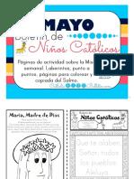 Mayo 2016 Boletín Para Niños Católicos