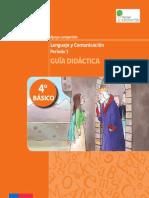 4 Básico Guía Didáctica Lenguaje y Comunicación Paola