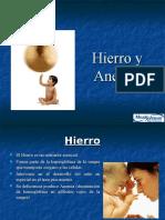 Hierro y Anemia 2009