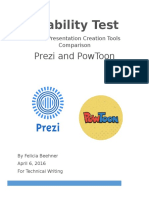 usability test white paper