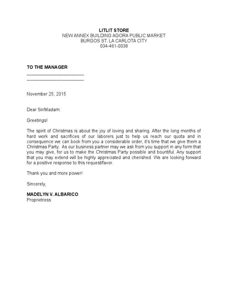 Solicitation letter to suppliers thecheapjerseys Image collections