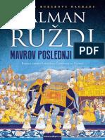 Mavrov Poslednji Uzdah - Salman Rushdie