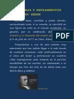 Poemas y Pensamientos de Herman Hesse
