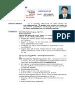 CV Syed Moin Akhter