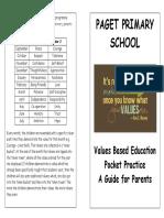 Paget.values Pocket Book
