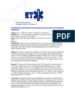 Effect of the Prehospital Trauma Life Support Program PHTLS on Prehospital
