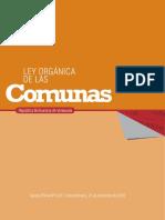 LEY ORGANICA DE LAS COMUNAS.pdf