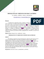 Informe de Preparación de Compuestos de Boro y Aluminio