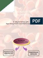 Diagnosis Hematoserologis Pada Infeksi