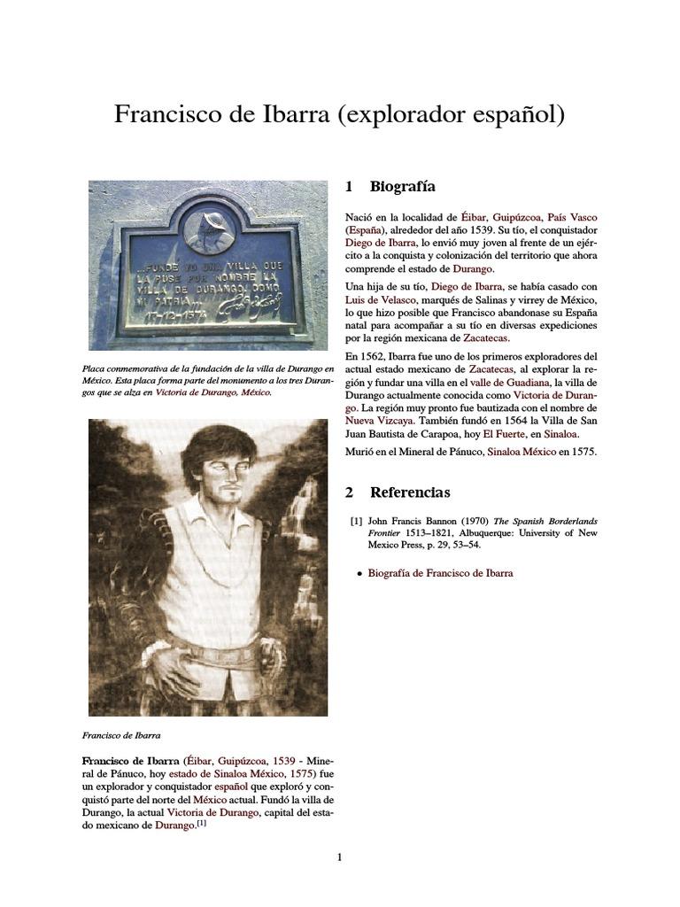 Francisco de Ibarra   Virreinatos del Imperio español   México