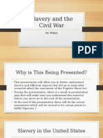 edci 270 slavery and the civil war ppt