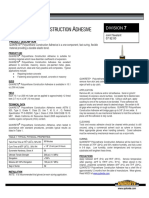 DATA_SHEET-Polyurethane Construction Adhesive 9902-10