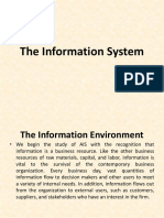 1 the Information System
