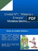 Unidad Nº1modelo Atómico