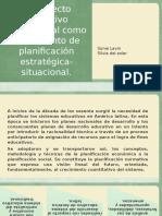 El Proyecto Educativo Institucional Como Instrumento de Planificación