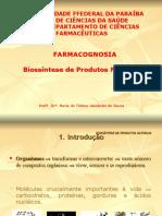 2. Biossíntese de Produtos Naturais