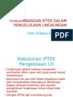 PPT Tek Pengolahan Lingkungan