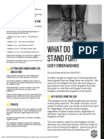 Join the Conversation Young Adult Discussion Guide - What Do You Stand For
