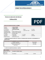 ANEXO III Evaluacion Psicopedagogica Documento