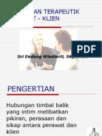 Hubungan Terapeutik Perawat Klien2