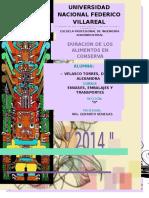 DURACIÓN DE LOS ALIMENTOS EN CONSERVA.docx