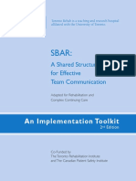 SBAR Toolkit