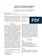 Synthesis of Alkyd Resin From Jatropha and Rapeseed