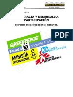Guía Democracia y Desarrollo, Participación ciudadana