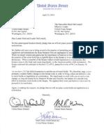 Letter to Sen. Reid on Secret Holds (05/06/2010)