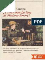 _Y Como Eran Las Ligas de Madam - Francisco Umbral