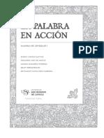 CONTENIDO_La palabra en acción (Manual 1).pdf