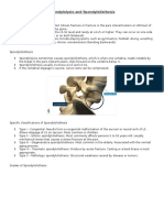 spondylolysis and spondylolisthesis handout