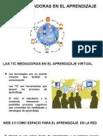 Las Tic Mediadoras en El Aprendizaje Virtual